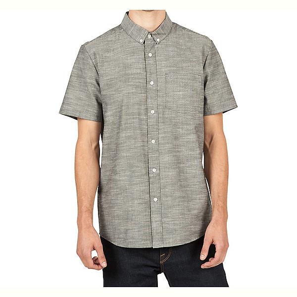 Volcom Everett Oxford Mens Shirt, Black, 600
