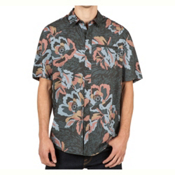 Volcom Cubano Mens Shirt, Stealth, medium