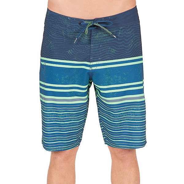 Volcom Lido Liney Mod Mens Board Shorts, Deep Water, 600