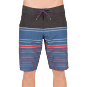 Volcom Lido Liney Mod Mens Board Shorts, Smokey Blue, medium