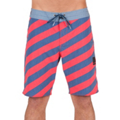Volcom Stripey Slinger Mens Boardshorts, Toffee, medium