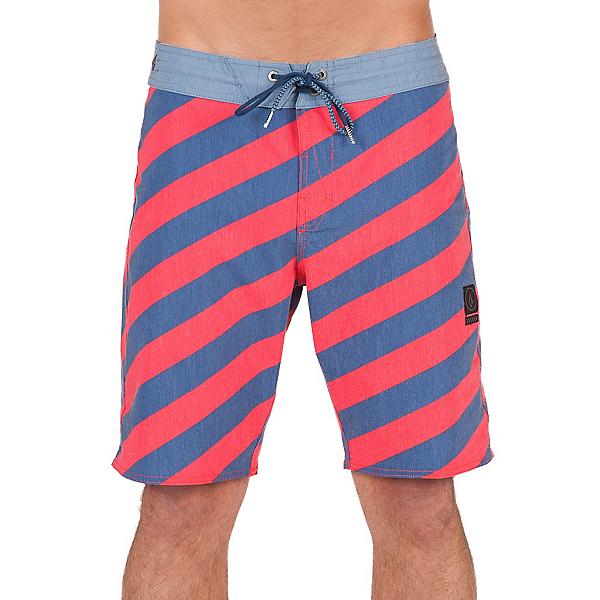 Volcom Stripey Slinger Mens Board Shorts, Toffee, 600