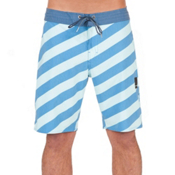 Volcom Stripey Slinger Mens Boardshorts, Deep Water, medium