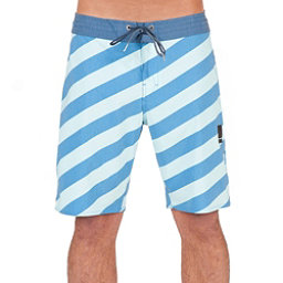 Volcom Stripey Slinger Mens Board Shorts, Deep Water, 256