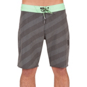 Volcom Stripey Slinger Mens Boardshorts, Stealth, medium