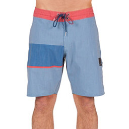 Volcom 3 Quarta Slinger Mens Board Shorts, Ash Blue, 256