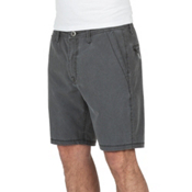 Volcom Surf N Turf Faded Mens Hybrid Shorts, Black, medium