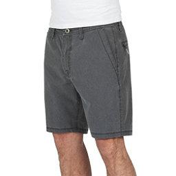 Volcom Surf N Turf Faded Mens Hybrid Shorts, Black, 256