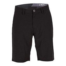 Volcom Surf N Turf Frickin Static Mens Hybrid Shorts, Blackout, 256