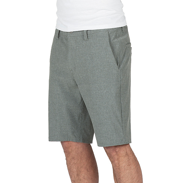 Volcom Surf N Turf Frickin Static Mens Hybrid Shorts, Stealth, 600