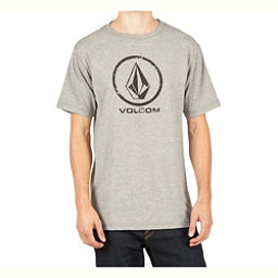 Volcom Lino Stone Mens T-Shirt, Heather Grey, 256