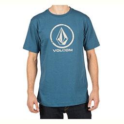Volcom Lino Stone Mens T-Shirt, Smokey Blue, 256