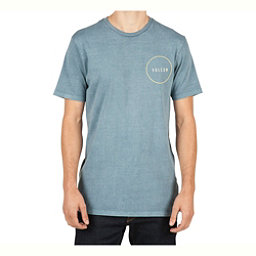 Volcom Removed Mens T-Shirt, Ash Blue, 256