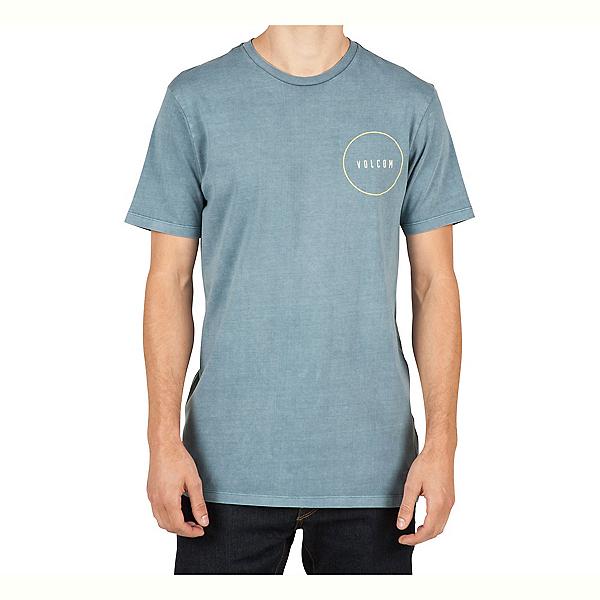 Volcom Removed Mens T-Shirt, Ash Blue, 600