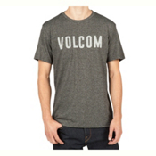 Volcom Trucky Mens T-Shirt, Heather Black, medium