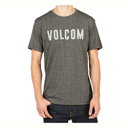 Volcom Trucky Mens T-Shirt, Heather Black, 256