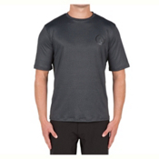 Volcom Distortion Mens Rash Guard, Stealth, medium