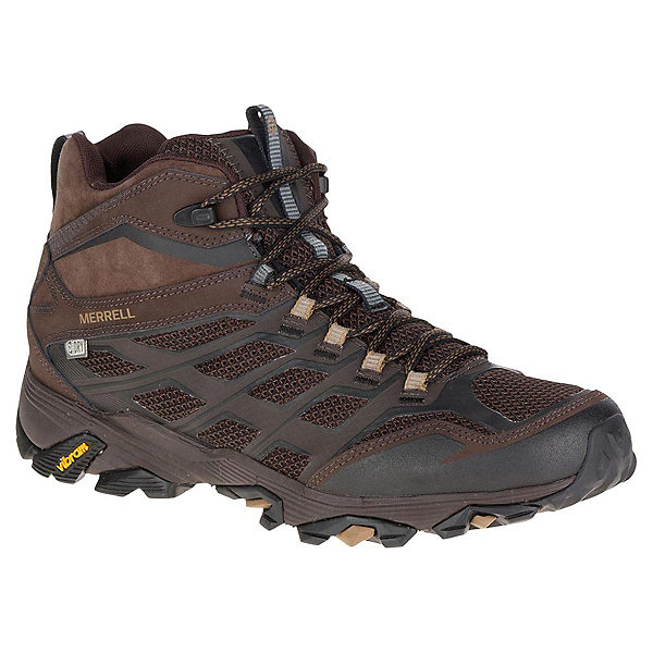 Merrell Moab FST Mid Waterproof Mens Shoes, , 600