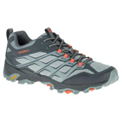 Merrell Moab FST Mens Shoes, Grey-Orange, medium