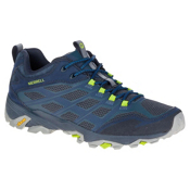 Merrell Moab FST Mens Shoes, Navy, medium
