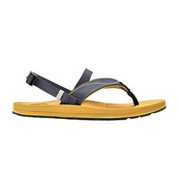 Astral Filipe Mens Flip Flops, Navy-Brown, 256