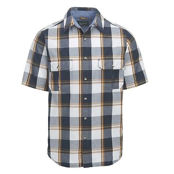 Woolrich Midway Mens Shirt, Deep Indigo Plaid, 600