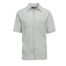 Woolrich Lost Lakes Chambray Mens Shirt, Gray, 256