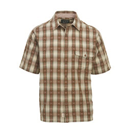 Woolrich Overlook Dobby Eco Rich Mens Shirt, Chicory, 256