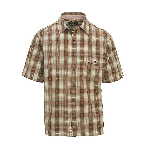 Woolrich Overlook Dobby Eco Rich Mens Shirt, Chicory, 600