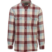 Woolrich Stone Rapids Eco Rich Mens Shirt, Antique Red Buffalo, medium