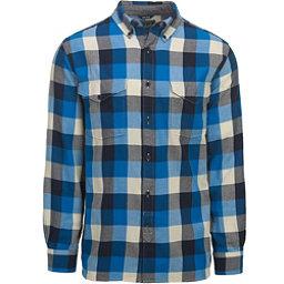 Woolrich Stone Rapids Eco Rich Mens Shirt, Blue Jay Buffalo, 256