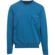 Woolrich Crescent Lake Terry Crew Mens Sweatshirt, Blue Jay, medium