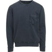 Woolrich Crescent Lake Terry Crew Mens Sweatshirt, Shadow, medium