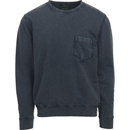 Woolrich Crescent Lake Terry Crew Mens Sweatshirt, Shadow, 256