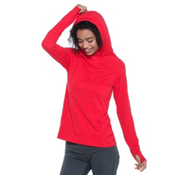 Toad&Co DeBug Sport Womens Hoodie, Parakeet Red, medium