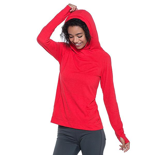 Toad&Co DeBug Sport Womens Hoodie, Parakeet Red, 600