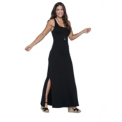 Toad&Co Montauket Long Dress, Black, medium