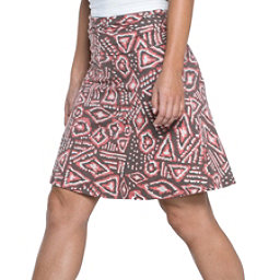 Toad&Co Chaka Skirt, Falcon Brown Brush Print, 256