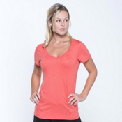 Toad&Co Marley Womens T-Shirt, Spiced Coral, medium