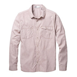 Toad&Co DeBug Riverbound Long Sleeve Mens Shirt, Seal Brown, 256