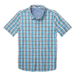 Toad&Co Airscape Short Sleeve Mens Shirt, Blue Foot, 256