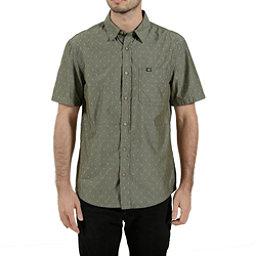 Tentree Borneo Mens Shirt, Olive Night, 256