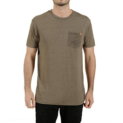 Tentree Gunlon Mens T-Shirt, Bungee Cord, viewer