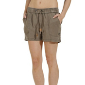 Tentree Instow Womens Shorts, Bungee Cord, medium