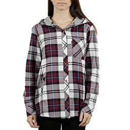 Tentree Clover Womens Shirt, Maroon, 256