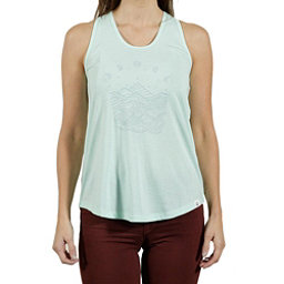 Tentree Pulau Womens Tank Top, Brook Green, 256