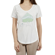 Tentree Olympic Womens T-Shirt, White, medium