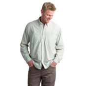 ExOfficio Atoll Long Sleeve Mens Shirt, Desert Sage, medium
