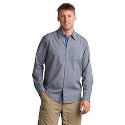 ExOfficio BugsAway Hakuna Long Sleeve Mens Shirt, Dark Pebble, 256