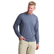 ExOfficio BugsAway Tarka Long Sleeve Mens Shirt, Navy, medium